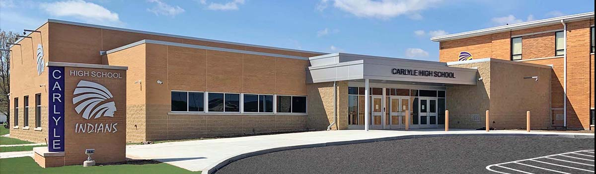 Carlyle High School 1200x350