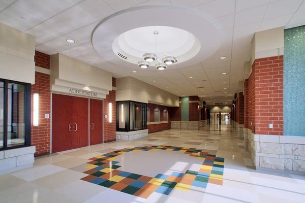 OTHS Milburn - Auditorium Lobby