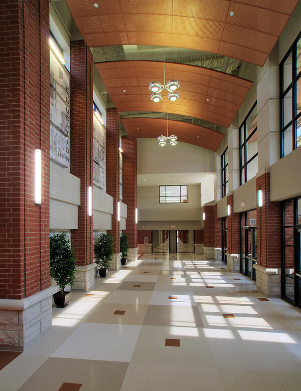 OTHS Milburn - Main Lobby