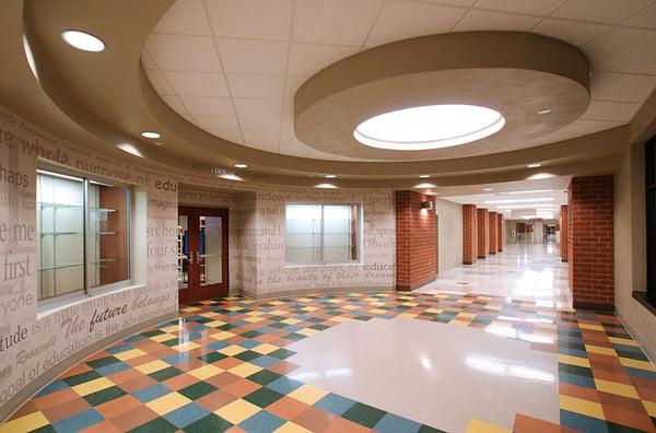 OTHS Milburn - Media Center Lobby