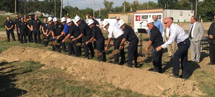 GC Fire Groundbreaking (small)