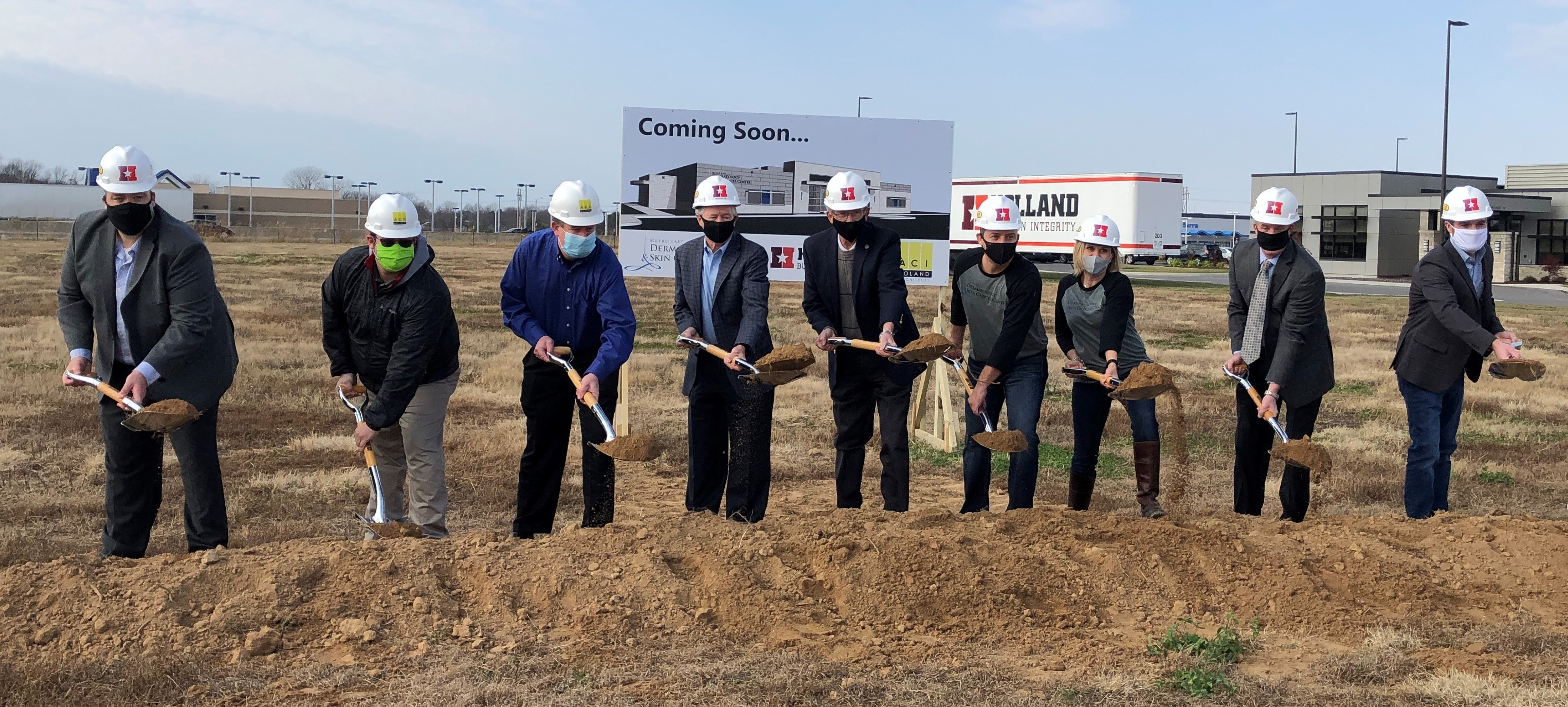 Metro East Derm Ground Breaking