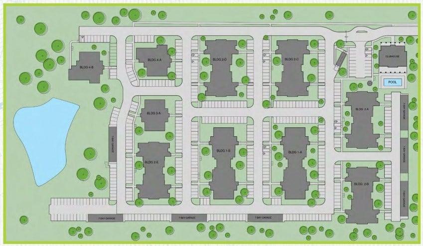 The Jewel Site Plan