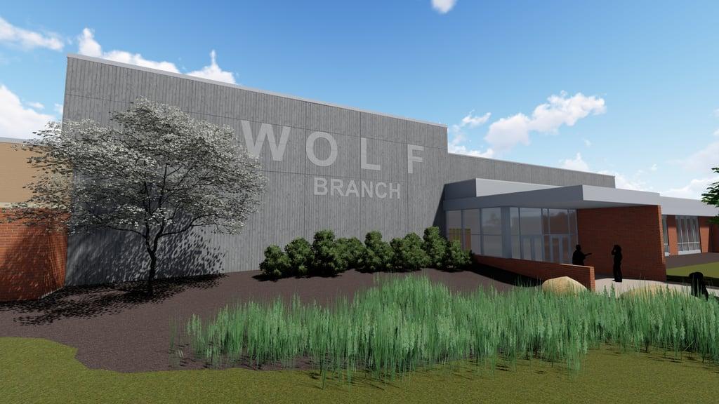 Wolf Branch rendering